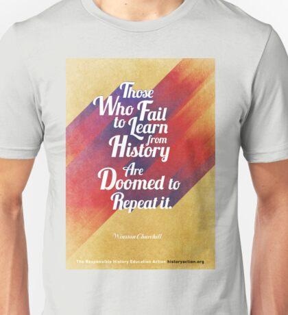 Repeat History Unisex T-Shirt