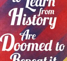 Repeat History Sticker