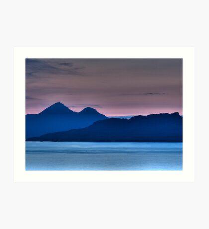 Scottish Islands Art Print
