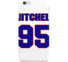 National football player Mitchell Benson jersey 95 iPhone Case/Skin