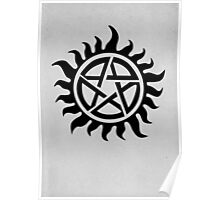 Supernatural Demon Possession Protection [BLACK] Poster