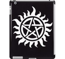 Supernatural Demon Possession Protection [WHITE] iPad Case/Skin