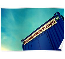 Lifeguard Station Poster