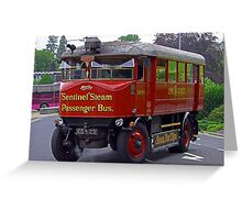 Steam Bus II Greeting Card
