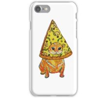 pizza gato iPhone Case/Skin