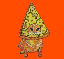 pizza gato Kids Clothes
