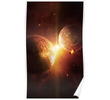 Cosmic Collision Poster