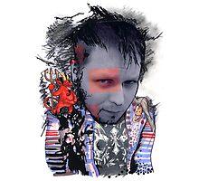 Brand Spankin' New Self Portrait Photographic Print