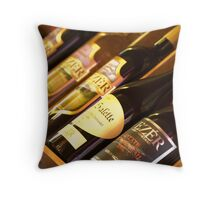 My Wine Labels Throw Pillow
