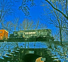 The Pawling Station Underpass by tinmar