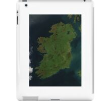 Ireland from Space - Ireland as seen from space iPad Case/Skin