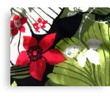 Flowers Behind the Vase Canvas Print