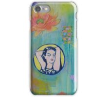 The Exquisite She iPhone Case/Skin