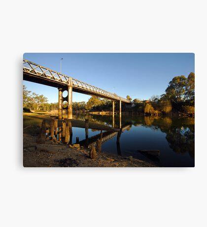 Murray River at Corowa Canvas Print
