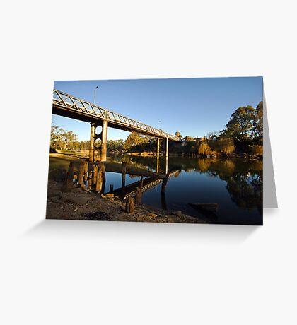 Murray River at Corowa Greeting Card