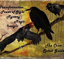 Crow and Raven Spirit Guide by Jane Neill-Hancock