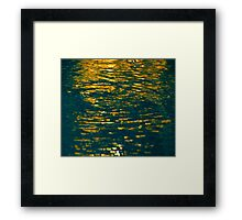 And The Spirit of God Moved Upon the Face of the Waters. Framed Print