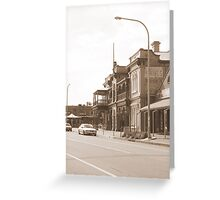 """Henley Streetscape"" Greeting Card"