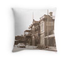"""Henley Streetscape"" Throw Pillow"