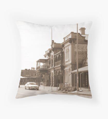 """Henley Streetscape"" Throw Pillow"