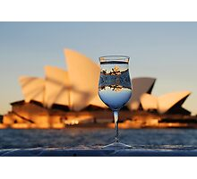 Glass IV, or Opera on the Rocks Photographic Print