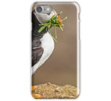 Vegetarian Puffin iPhone Case/Skin