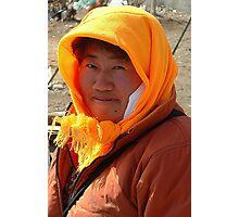Yingchengzi Villager Photographic Print