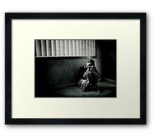 I'm Not Missing You Framed Print