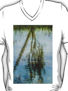 Tree reflected in water  T-Shirt
