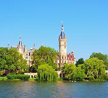 Schwerin Palace, Germany by Catherine Sherman
