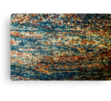 stone closeup for background Canvas Print