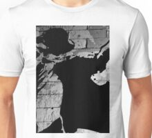 Black and white abstract Unisex T-Shirt