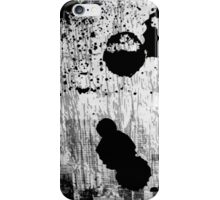 Black and white abstract iPhone Case/Skin