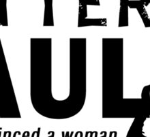 Better Call Saul (Kevin Costner) Quote Sticker