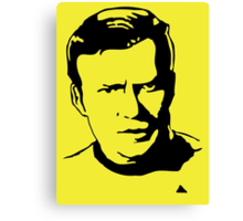 William Shatner Star Trek Canvas Print