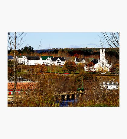 Rural America...Small Town USA..... Photographic Print