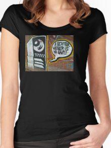 vienna love  Women's Fitted Scoop T-Shirt