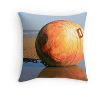 www.lizgarnett.com - Dymchurch Buoy Throw Pillow