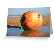 www.lizgarnett.com - Dymchurch Buoy Greeting Card