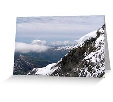 Snow-Capped Mountains Greeting Card