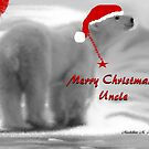 MERRY CHRISTMAS ~ UNCLE by Madeline M  Allen