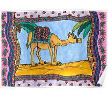 Crazy camel Poster
