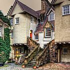 Steps in White Horse Close by Tom Gomez