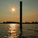 Dockside Light by Charles Adams