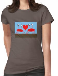 Crab Love Womens Fitted T-Shirt