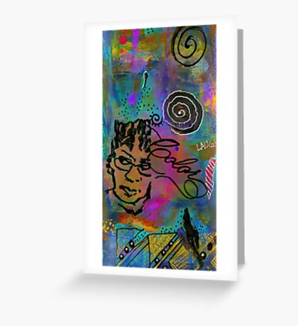 A HEALING Potion Called COLOR Greeting Card