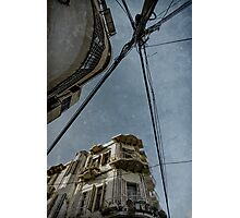 busy by cables  Photographic Print