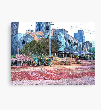 Federation Square  Canvas Print