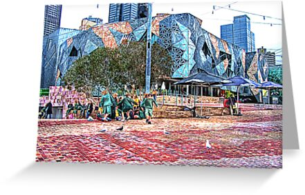 Federation Square  by © Helen Chierego