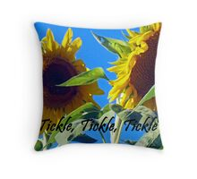 Tickle,Tickle,Tickle Throw Pillow